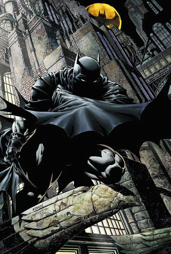 10450 Batman Arkham Knight Game Comic Art Poster Print