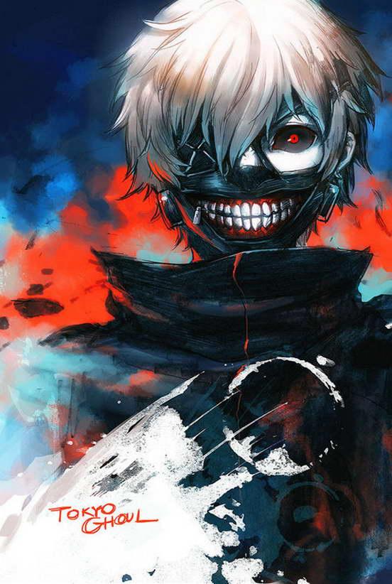 10537 Tokyo Ghoul Season 3 Anime Sendasly Wall Print POSTER AU