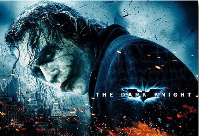 10732 JOKER - Batman The Dark Knight Movie Wall Print POSTER AU