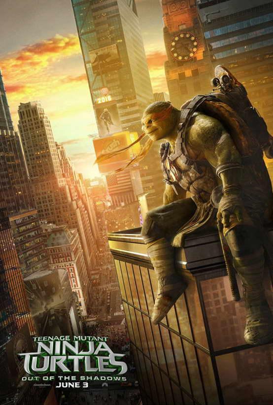 10784 Teenage Mutant Ninja Turtles 2 Out of the Shadows Movie TMNT POSTER AU