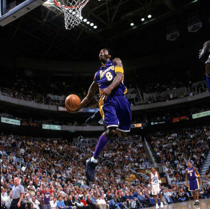 10835 Kobe Bryant Dunks Basketball Wall Print POSTER CA