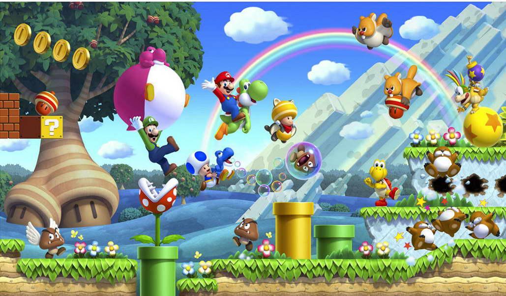 10903 Super Mario Bros 3 Game Huge Wall Print POSTER AU