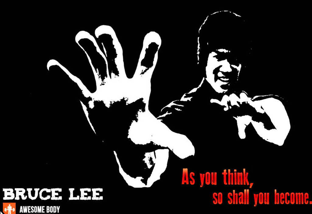 Image Is Loading 11170 Bruce Lee Motivational Quotes Kung Fu Star