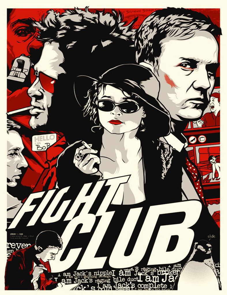 11679 Fight Club Movie Mara Wall Print POSTER CA