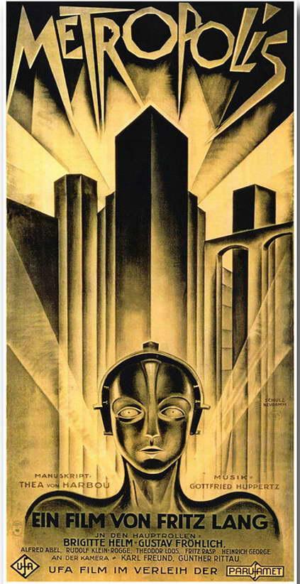 11721 METROPLIS Vintage Film Movie Wall Print POSTER CA