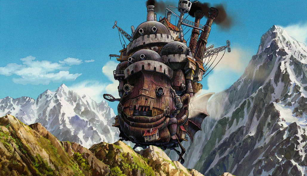 11727 Howls Moving Castle Cartoon Movie Wall Print POSTER CA