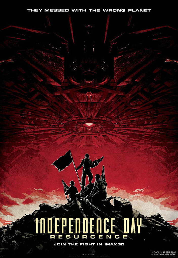 11801 Independence Day 2 Resurgence Movie Wall Print POSTER AU