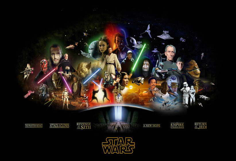 12086 Star Wars Classic Movie Episode 1- 6 Art Wall Print POSTER CA