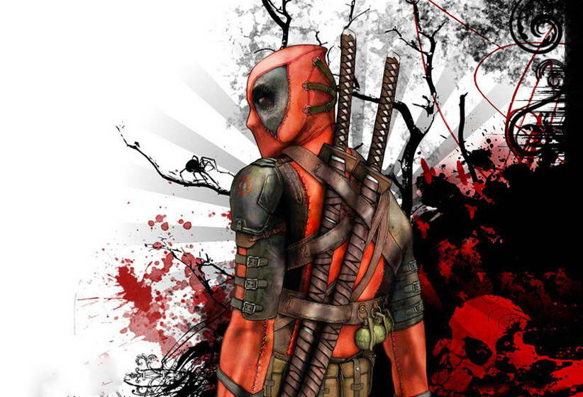 12095 Deadpool Heroes Movie Art For Room Wall Print POSTER CA