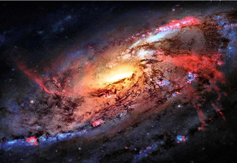 12308 Outer Space Nasa Universe Galaxy Art Star Planet Wall Print POSTER CA