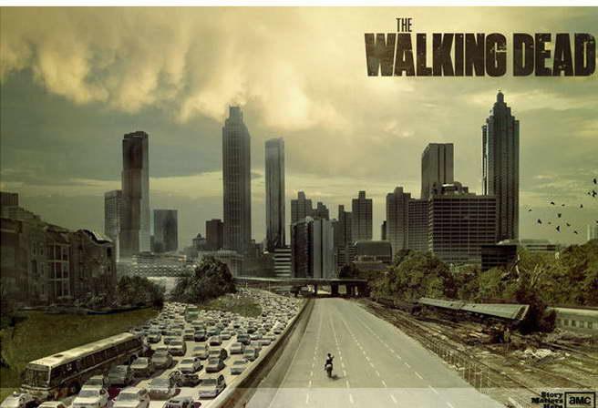 12524 The Walking Dead Season 4 TV Show Art Daryl Wall Print POSTER CA