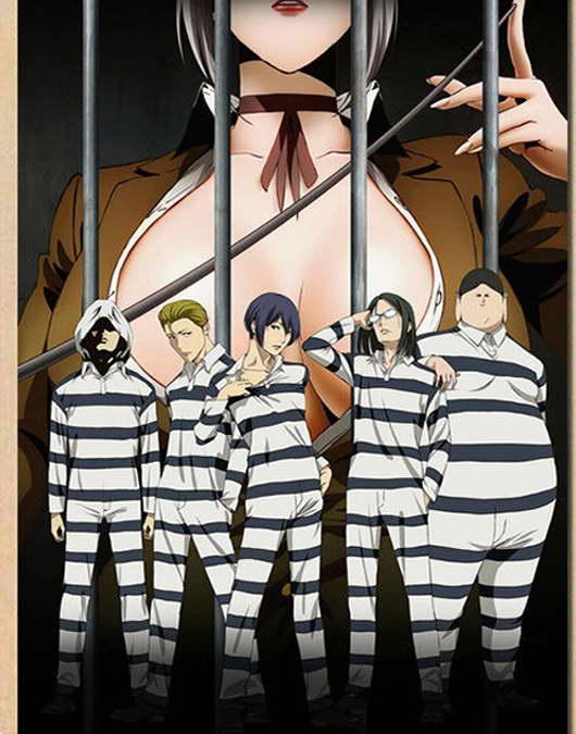 12791 Prison School Sexy Anime Girl Wall Print POSTER CA