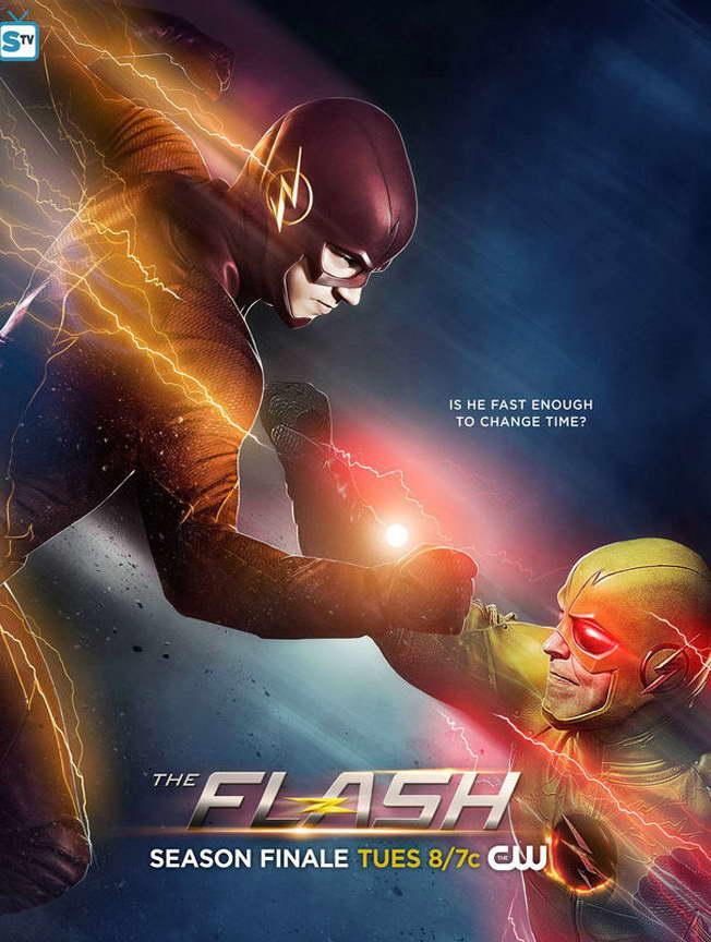 13200 il flash Stagione 2 SERIE TV Art Supereroe parete Stampa Poster UK