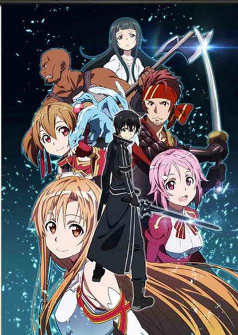 13242 Sword Art Online 2 New Season Anime Wall Print POSTER CA