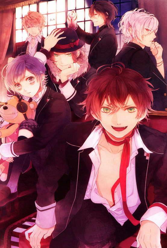 Das Bild Wird Geladen 14112 DIABOLIK LOVERS Anime Poster Komori Yui Plakat
