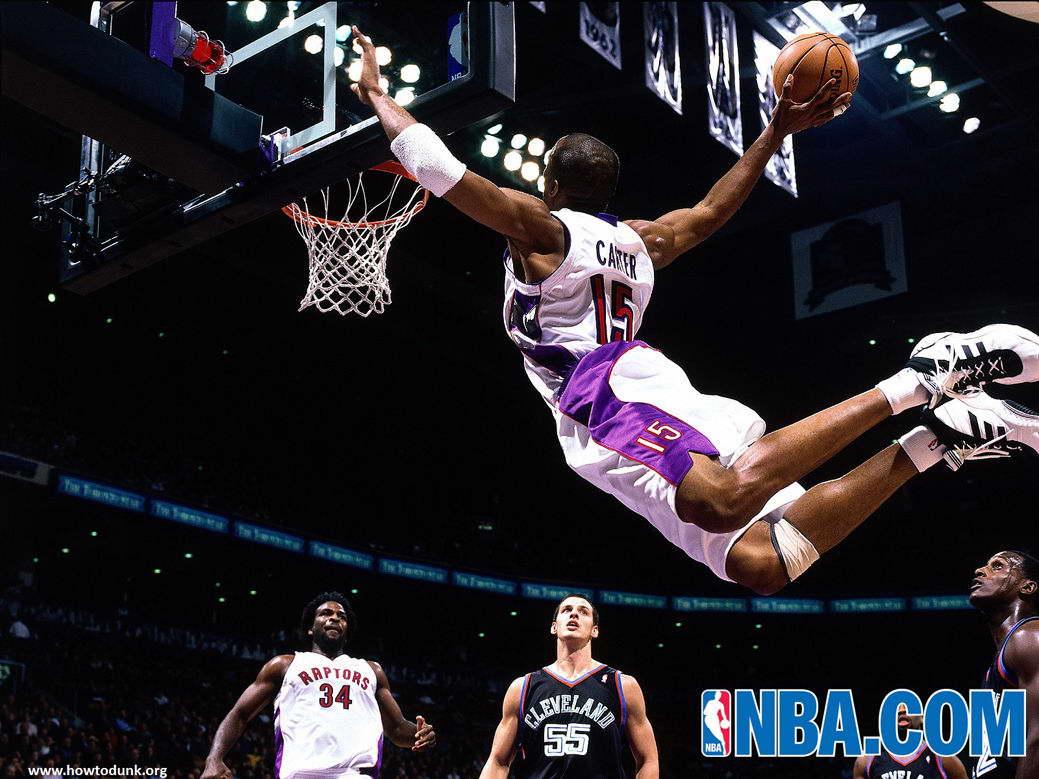 14432 Vince Carter Basketball Star Wall Print POSTER CA