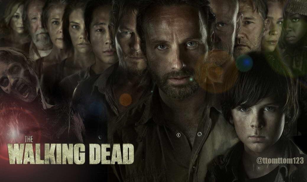 14617 The Walking Dead 1 2 3 4 TV Zombie Wall Print POSTER UK | eBay