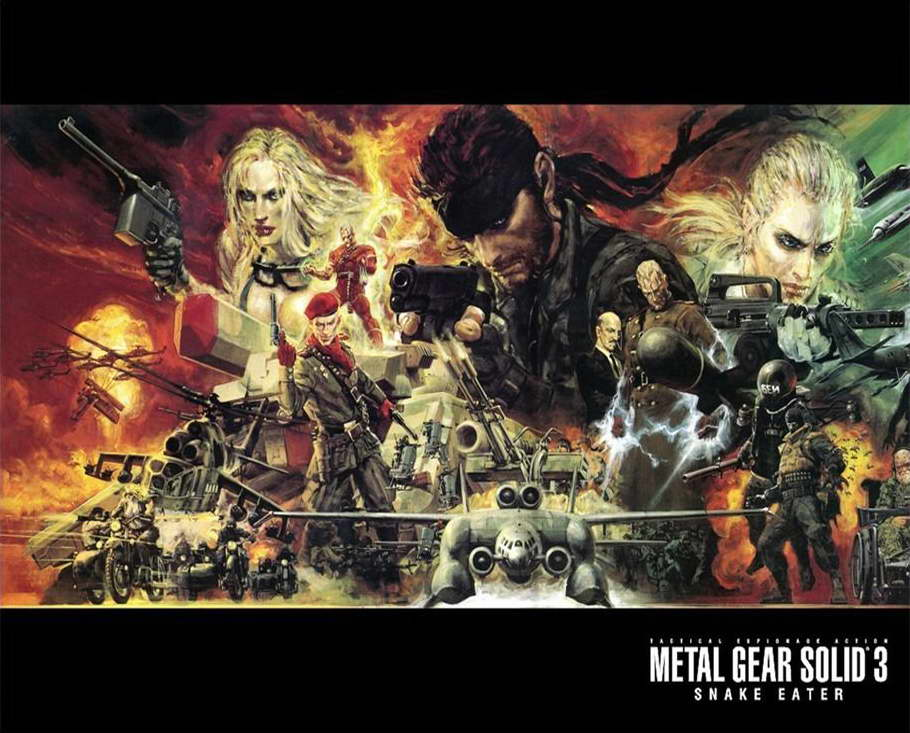 14953 metal gear solid 4 Game Wall Print POSTER CA