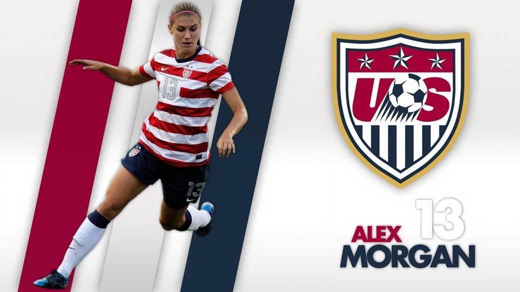 15060 Alex Morgan football star Wall Print POSTER AU