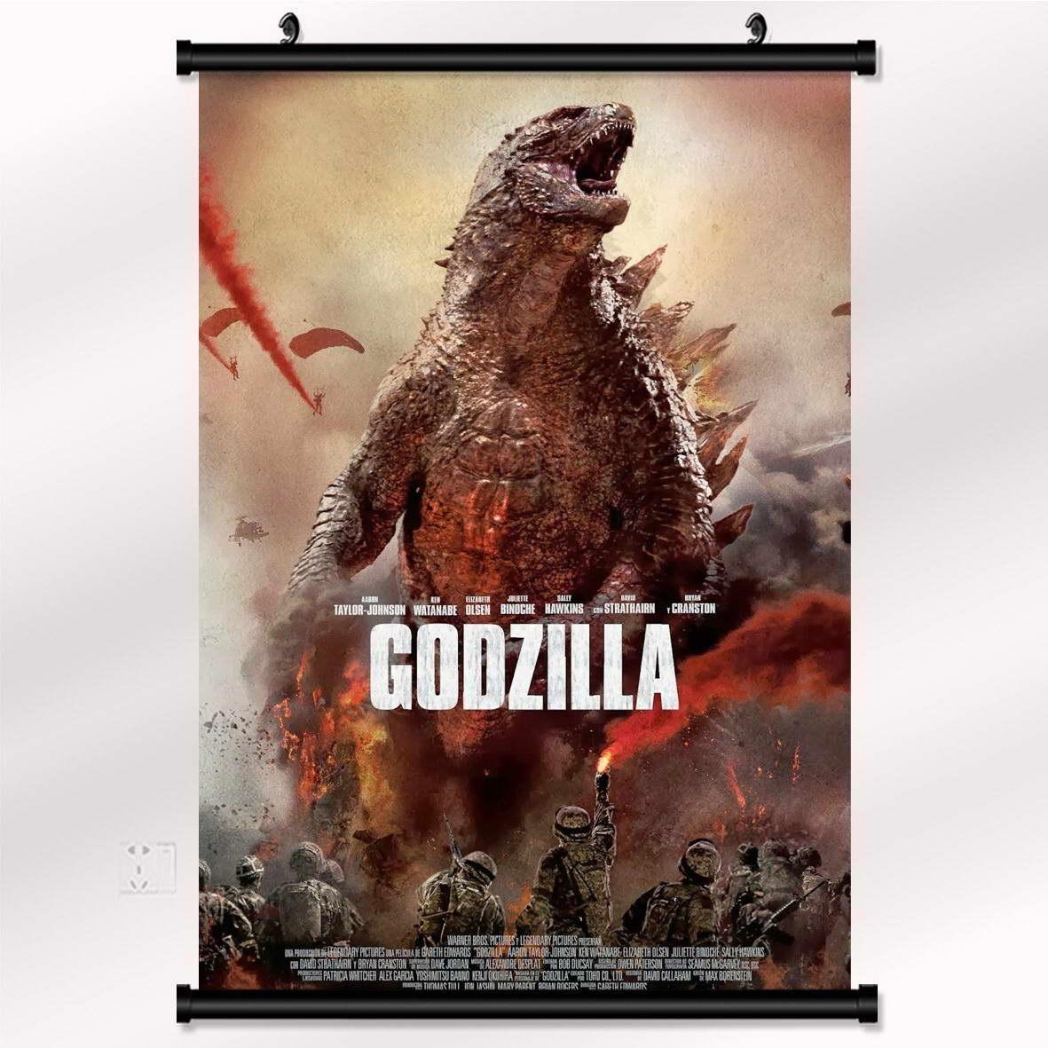 15241 Godzilla 2014 Movie Wall Print POSTER AU
