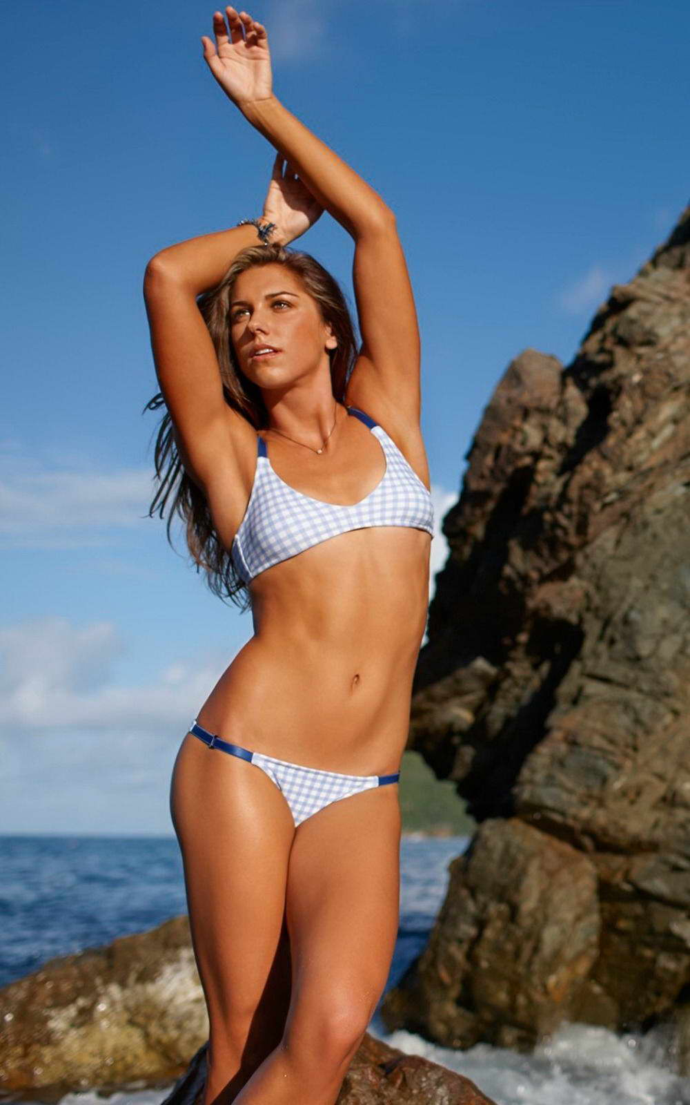 15829 Alex Morgan football star Wall Print POSTER AU