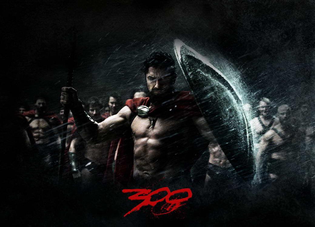 16924 Spartan 300 (2007) Movie Wall Print POSTER AU