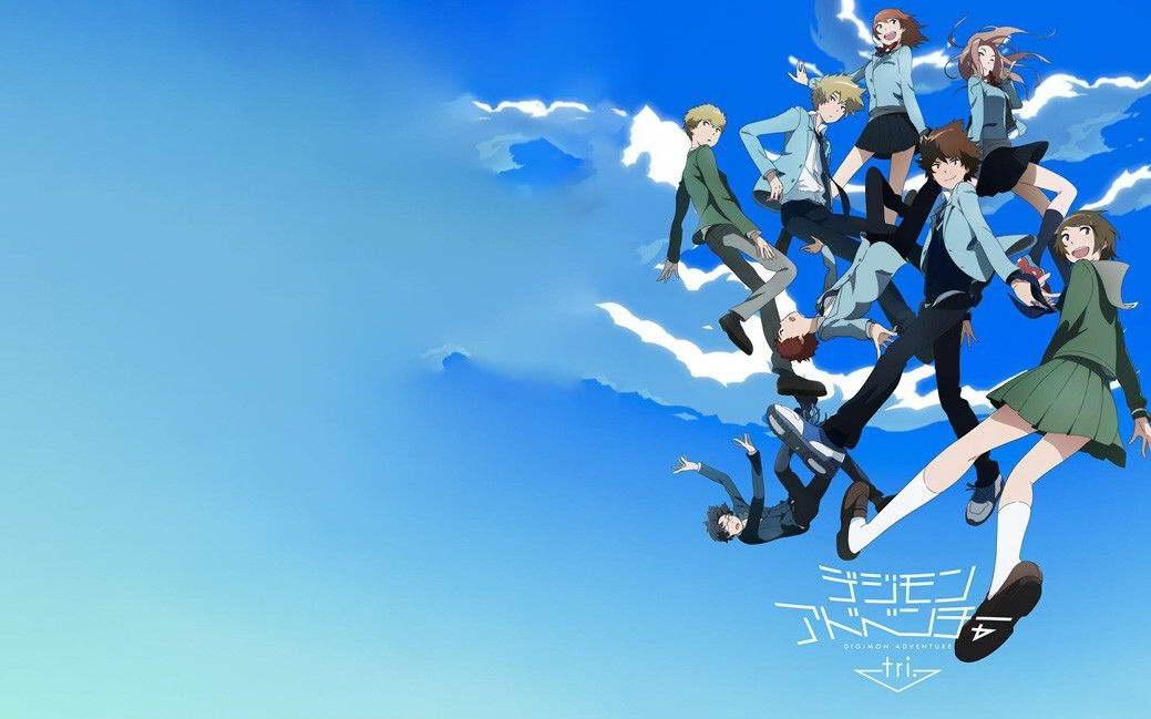 17436 Digimon Adventure Tri Japan Anime Wall Print POSTER AU