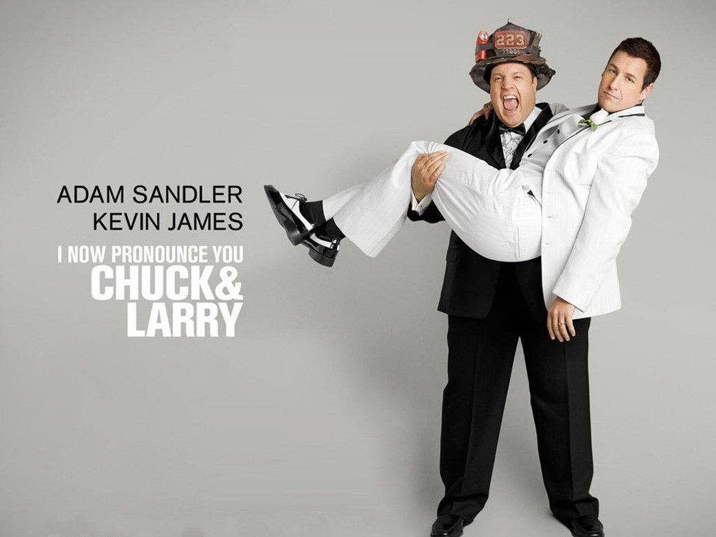 I Now Pronounce You Chuck And Larry Wall Print Poster Decor