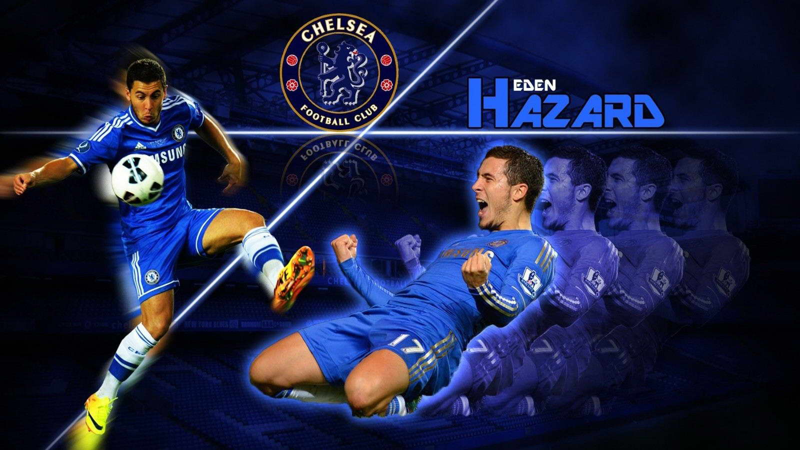 18629 Eden Hazard Football Soccer Star Wall Print POSTER AU