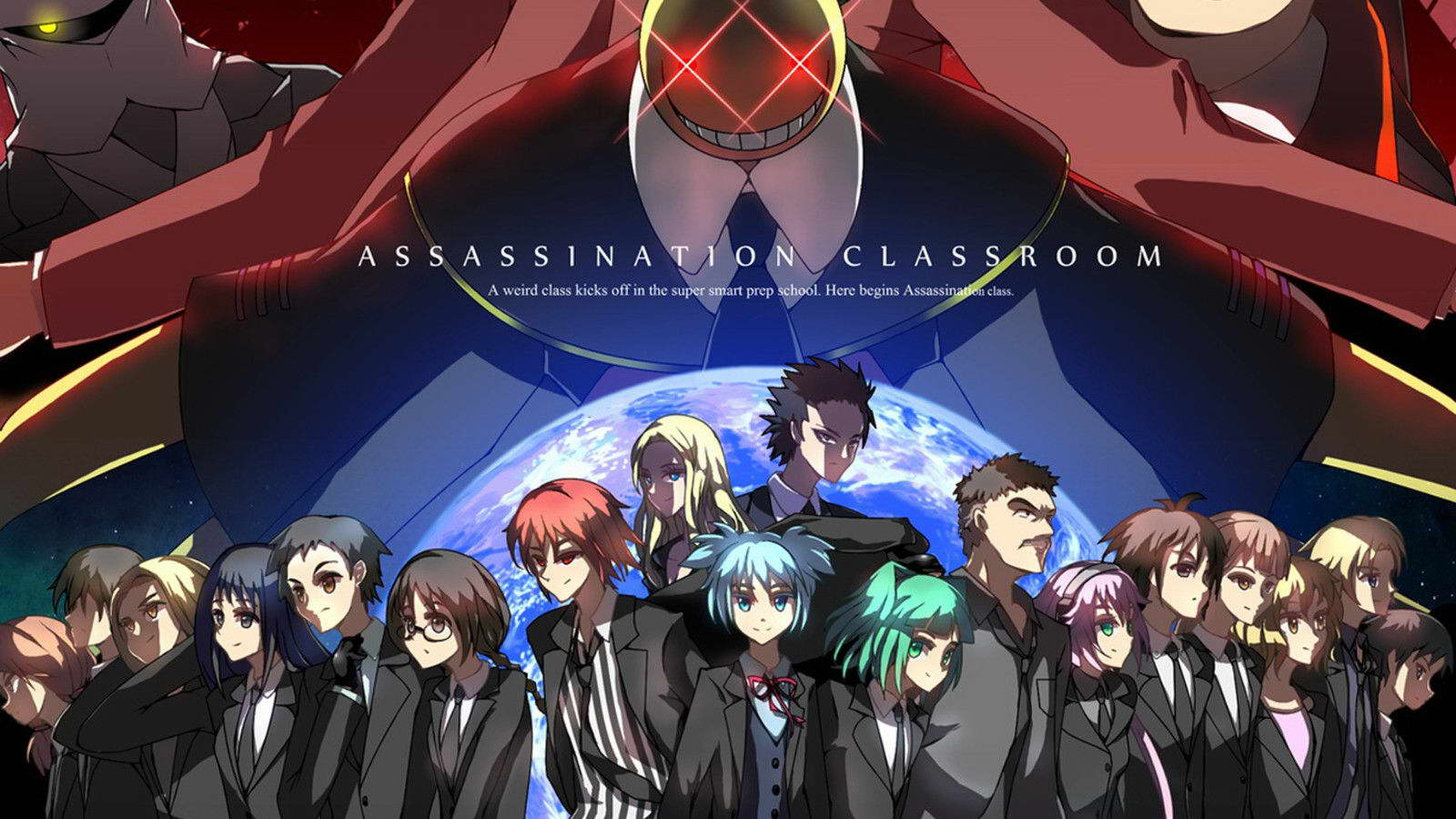 18781 Assassination Classroom Anime Wall Print POSTER AU