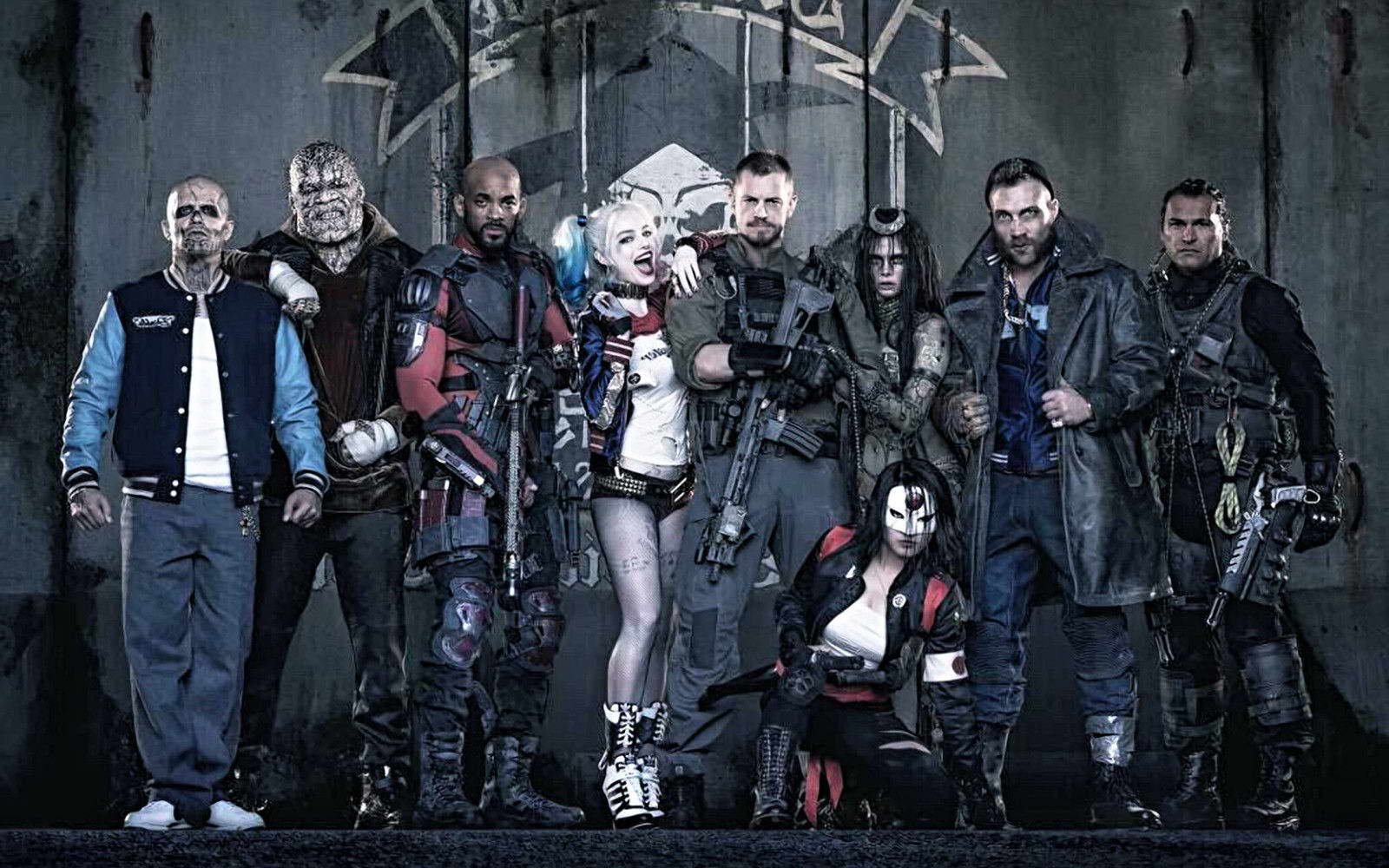 19494 Suicide squad Movie Wall Print POSTER AU