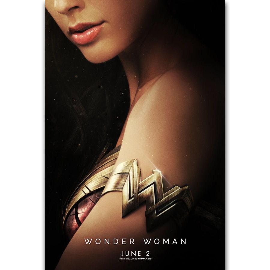 57878 2017 Wonder Woman Gal Gadot DC Wall Poster Print Affiche