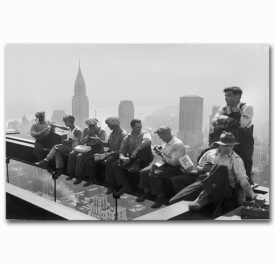 58389-Rockefeller-Ironworkers-Construction-Wall-Print-Poster-CA