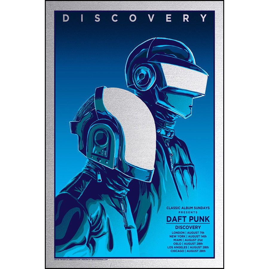 58683 Daft Punk The Weeknd Starboy Music Cover Wall Print Poster CA