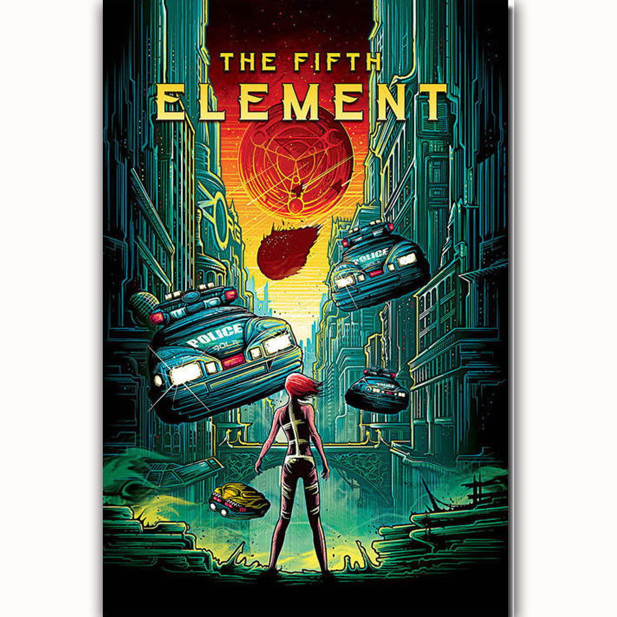 59647 The Fifth Element Wall Print Poster AU