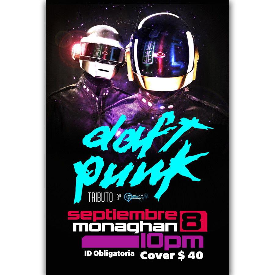 60046-Daft-Punk-The-Weeknd-boy-Rap-Tour-CANVAS-PRINT-Leinwand