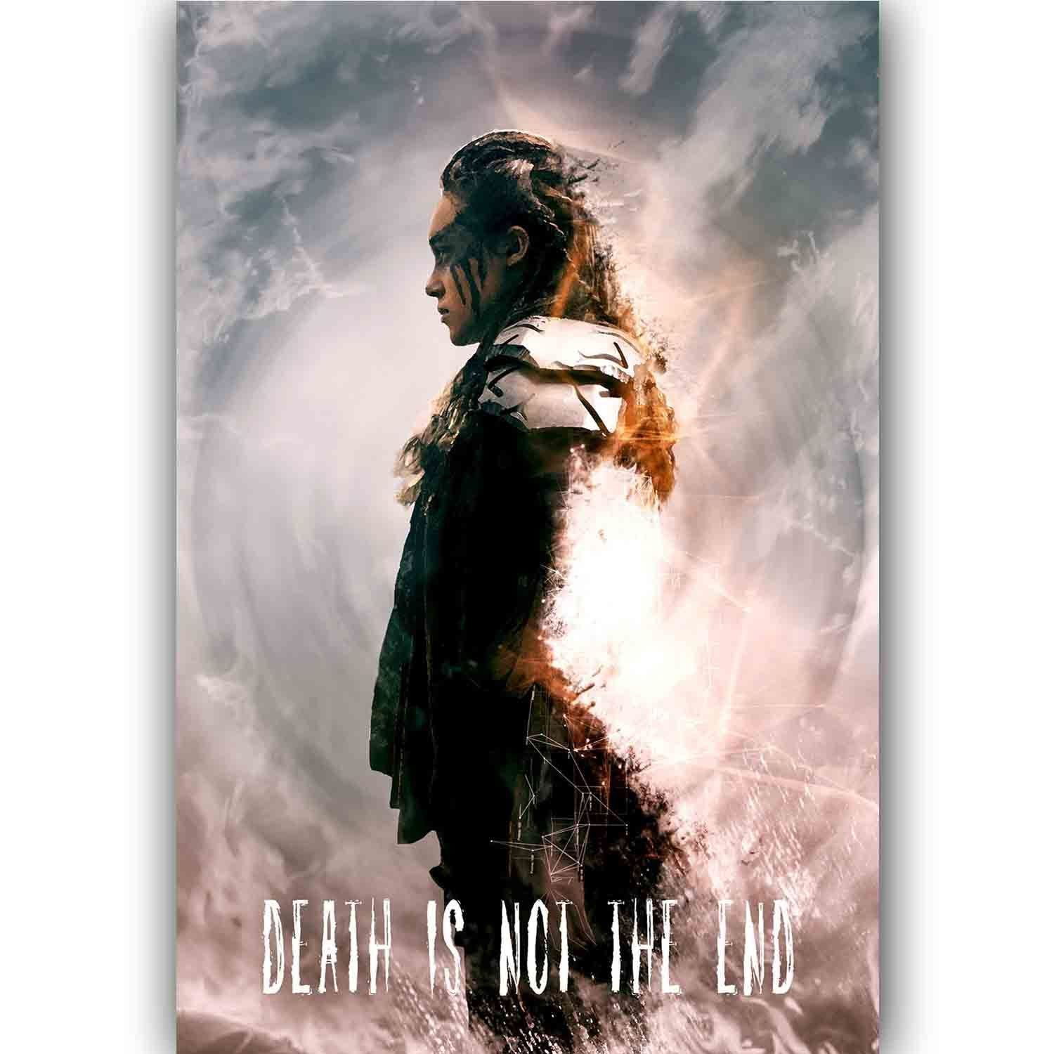 60832 New Lexa The 100 Wall Poster Print Affiche