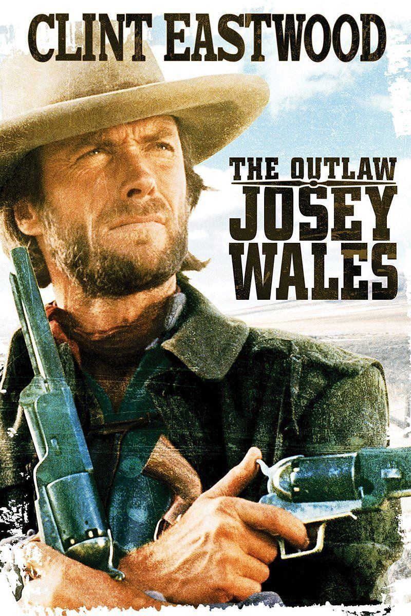 61013-CLINT-EASTWOOD-the-OUTLAW-JOSEY-WALES-Wall-Print-Poster-AU