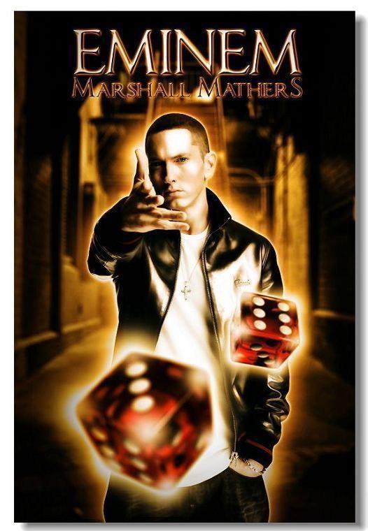 61460 Hot Rap Music Star Eminem Wall Print Poster CA