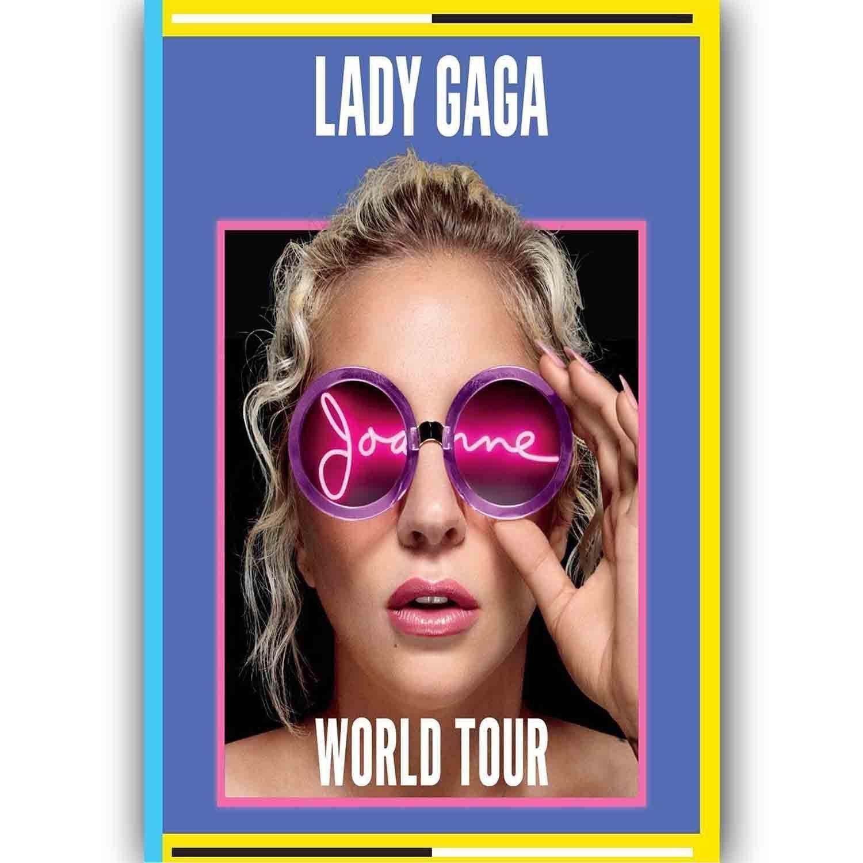 61618 New Lady Gaga Joanne World Tour 2017 Music Wall Print Poster AU