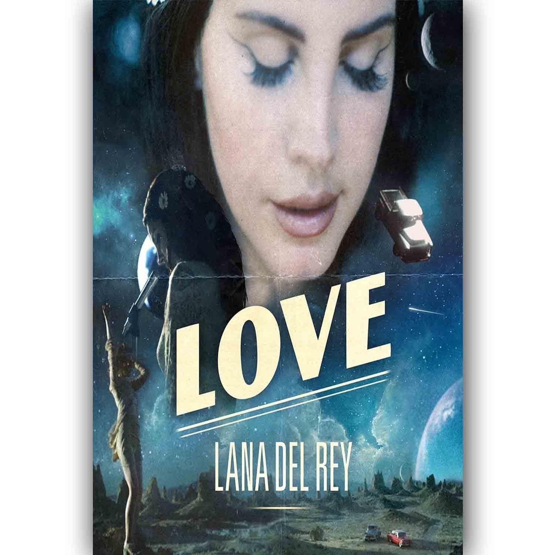 61778-Lana-Del-Rey-Love-FRAMED-CANVAS-PRINT-UK