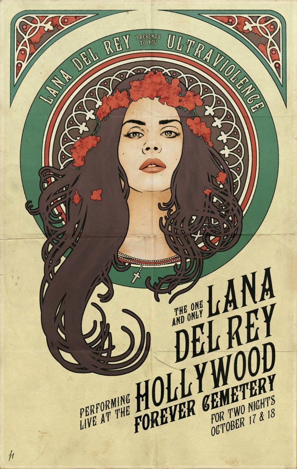 62576-Lana-Del-Rey-Star-FRAMED-CANVAS-PRINT-UK