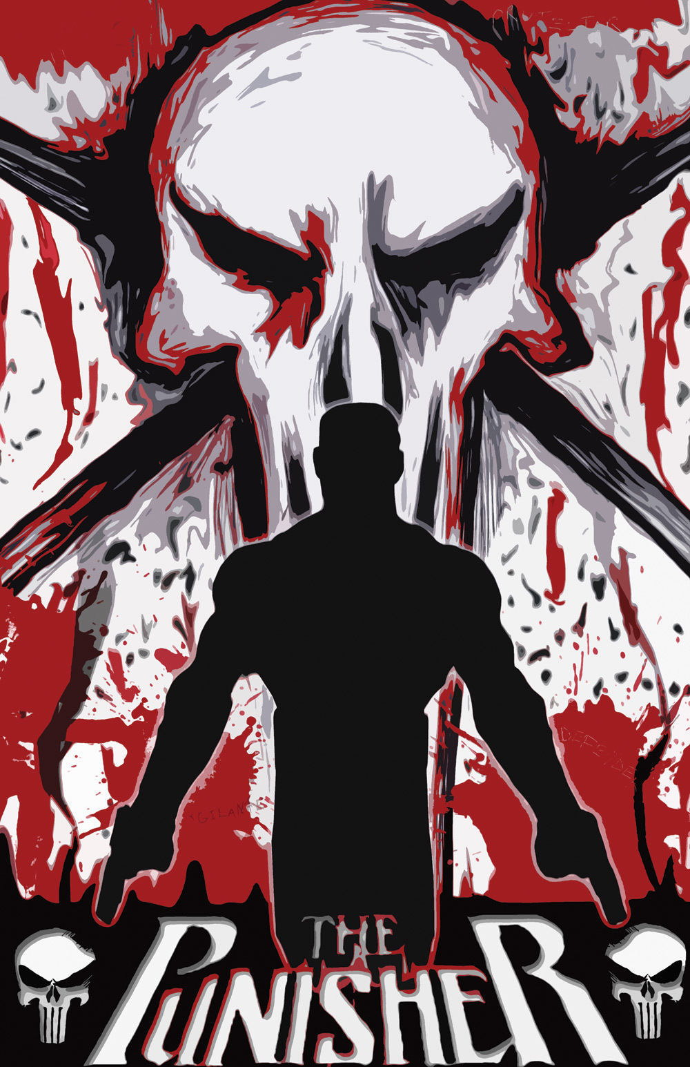 63456 The Punisher Wall Print Poster AU