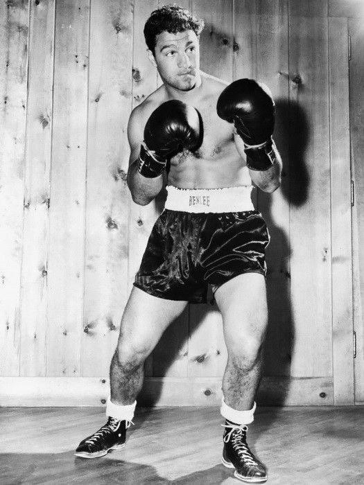 63795 Rocky Marciano Boxer Sport FRAMED CANVAS PRINT UK | eBay