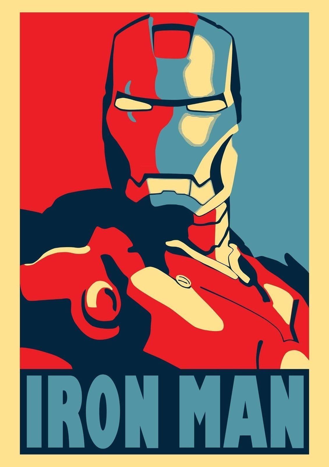 64657 Iron Man Wall Poster Print Affiche
