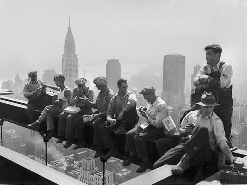 64817-Rockefeller-Ironworkers-Construction-Lunch-Wall-Print-Poster-CA