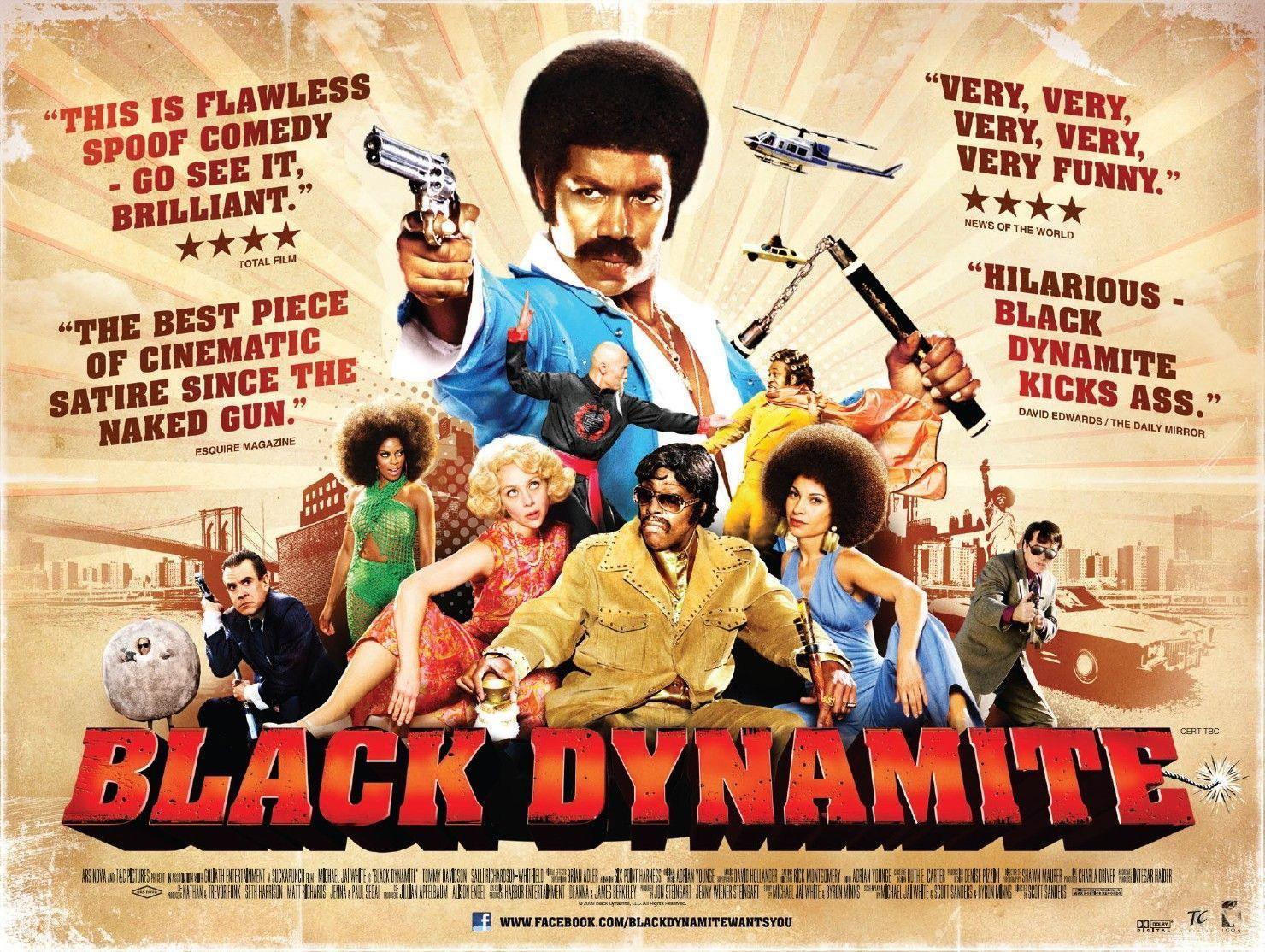 65174-BLACK-DYNAMITE-Blaxploitation-Shaft-Super-Fly-Wall-Print-Poster-Affiche