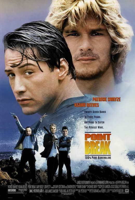 Reeves cornice 65707 con Keanu Point Swayze tela Break Patrick in Tela Movie vqPTZPwY