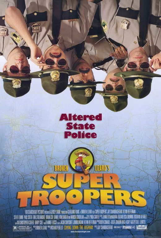 65970 Super Troopers Movie Jay Chandrasekhar Wall Print Poster AU