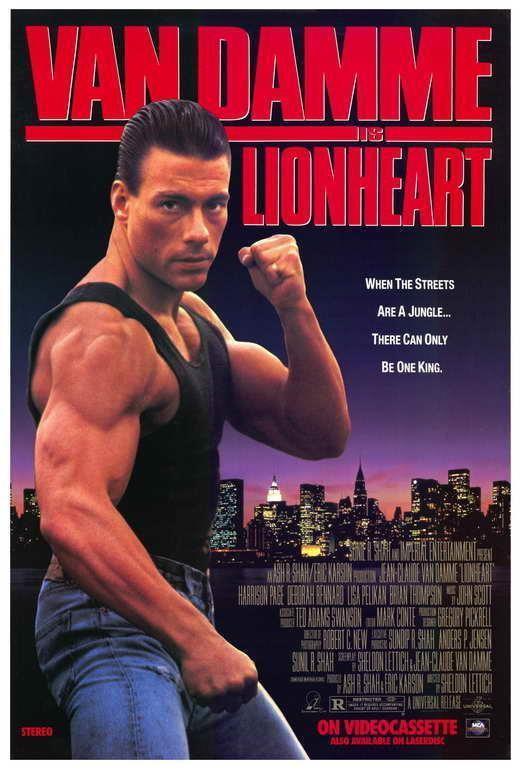 66900 Lionhe Jean-Claude Van Damme, Harrison Page Wall Print Poster CA